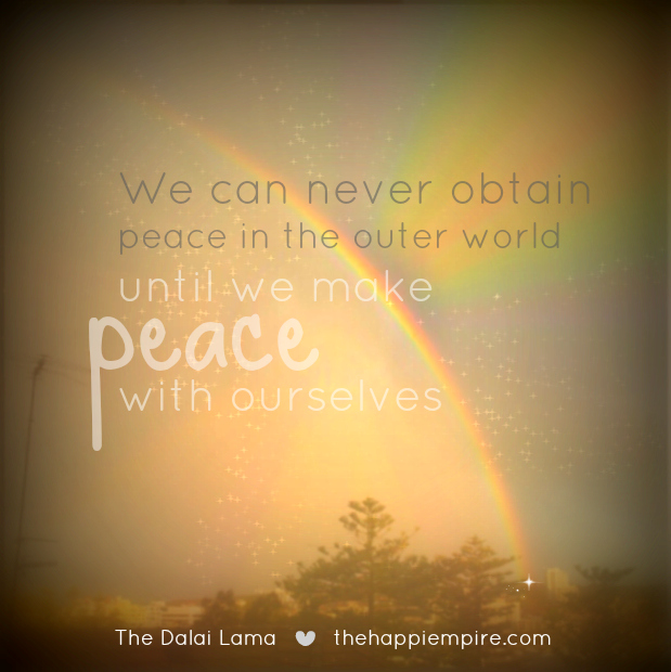 peace within first