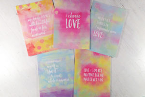 Love Art Cards set