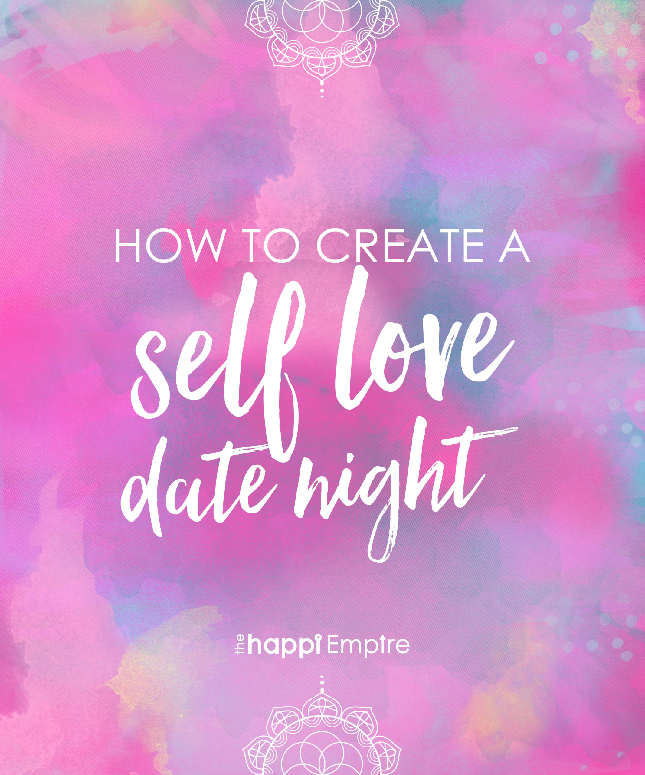 How to create a self love date night