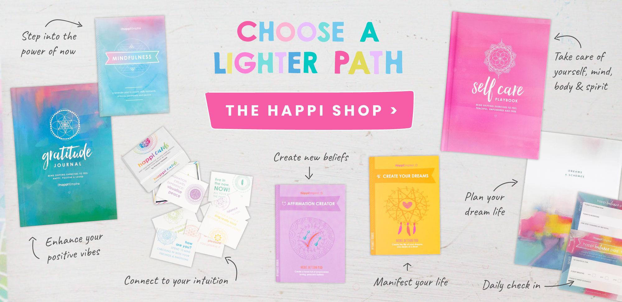 Choose a lighter path
