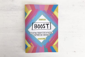 Boost booklet - front cover
