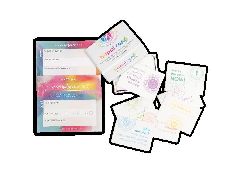 Happi Cards and Happi Balance Pad bundle