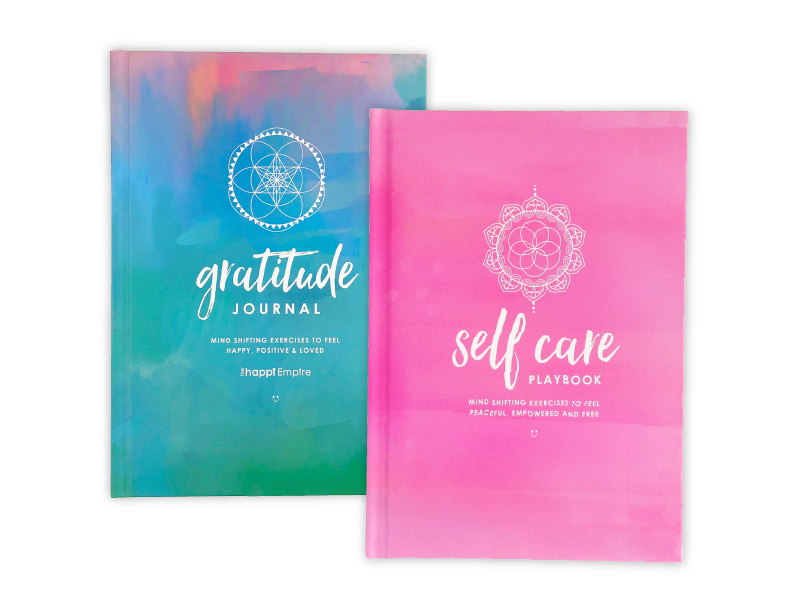 Gratitude Journal and Self Care Playbook special offer