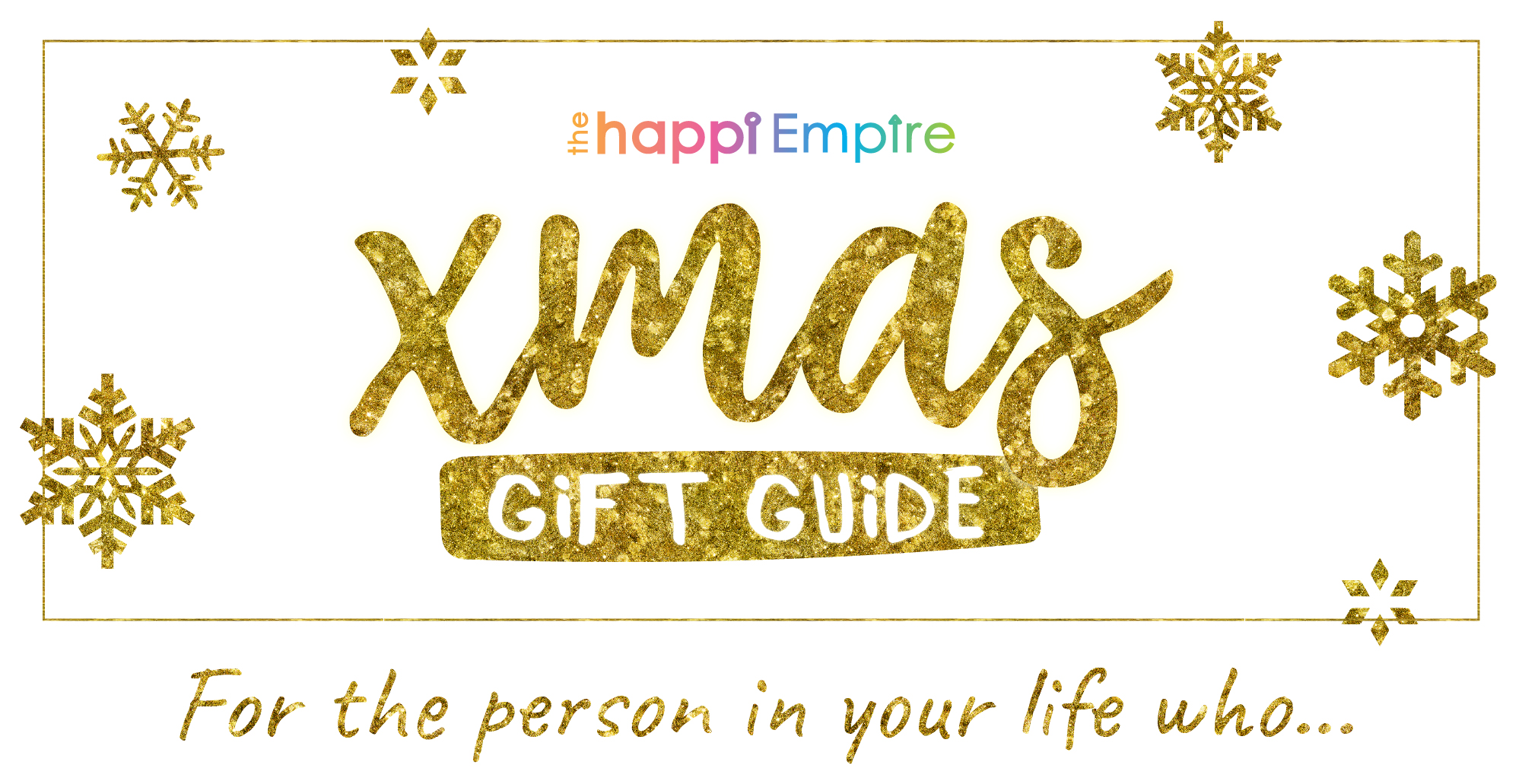 Happi Xmas Gift Guide - soulful Christmas gifts