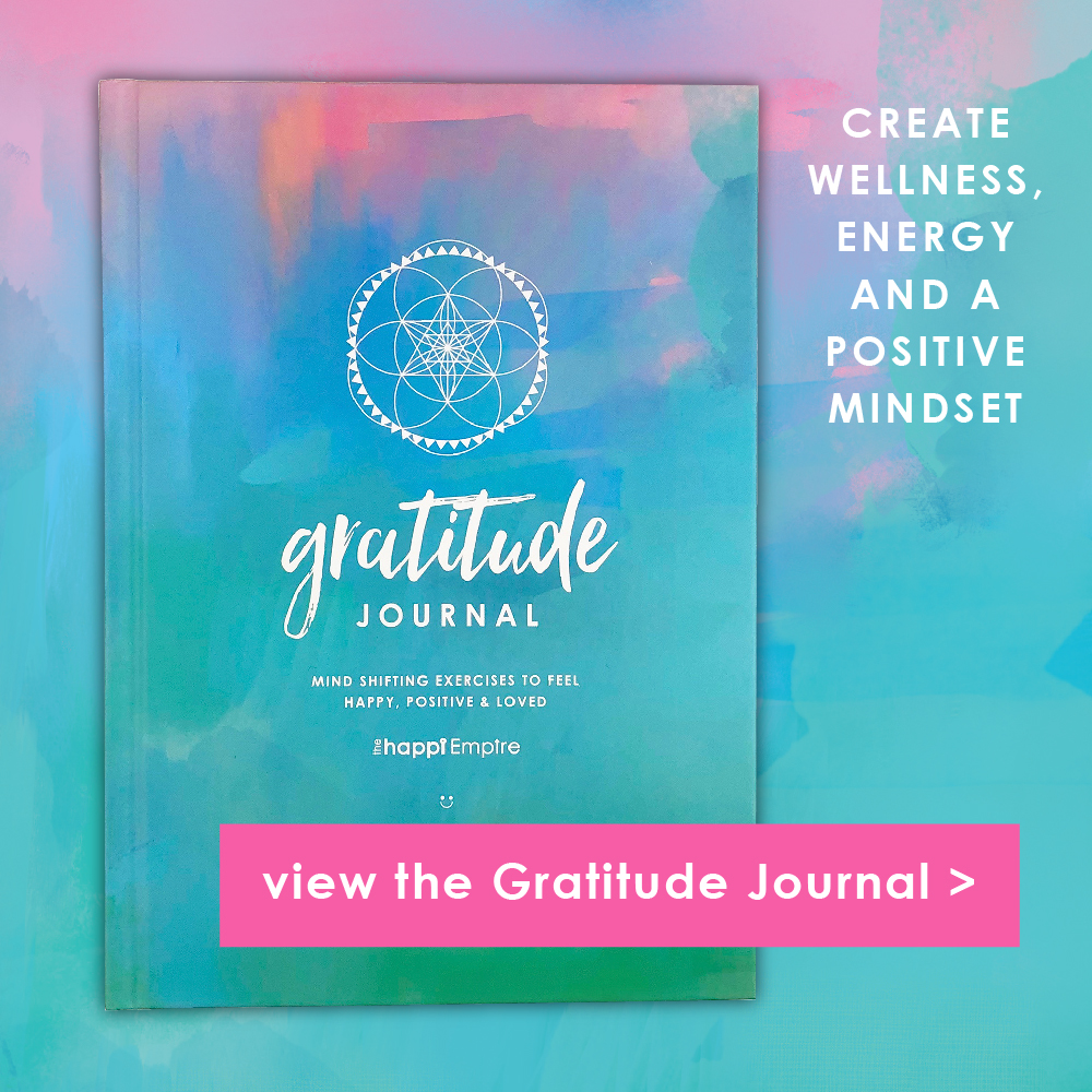 Gratitude Journal for wellness and positive mindset