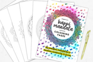 Mandala colouring pages