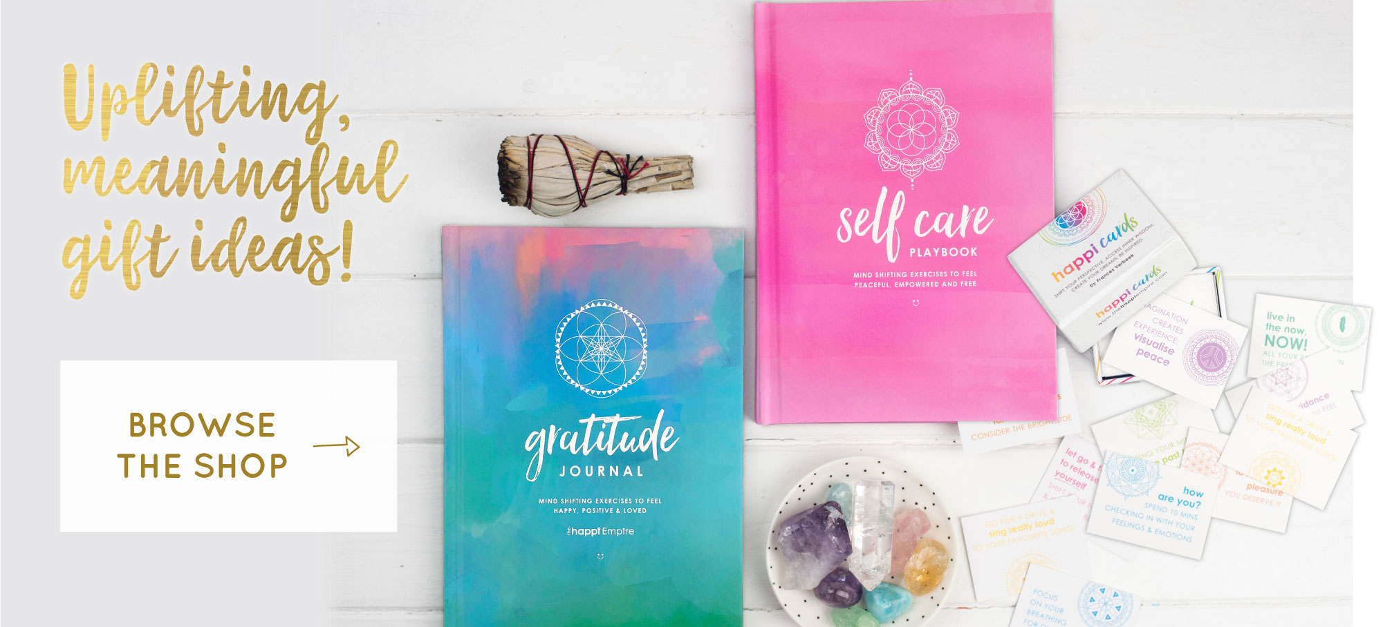 Uplifting Gifts with meaning