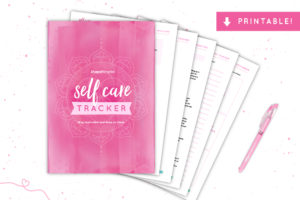 Self Care Tracker - 90 Days