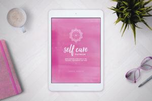 Self Care Playbook on iPad