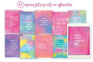 Self Care Playbook affirmations