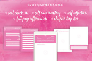 Self Care Playbook features