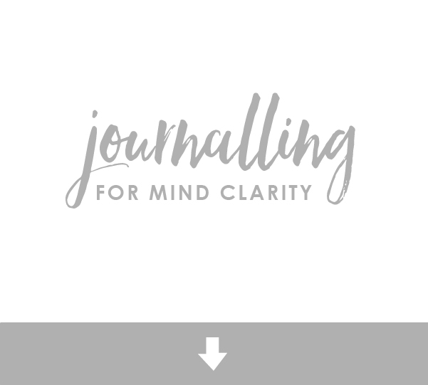 journalling for mind clarity